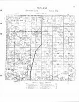 Rutland Township, Buffalo Lake, Kiester Lake, Northrop, Martin County 1961
